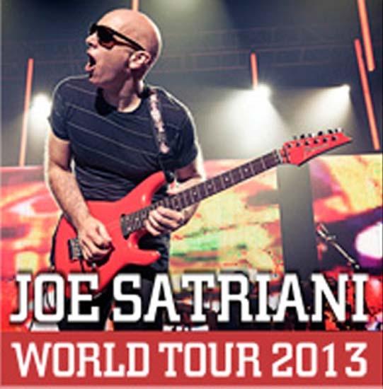 Joe Satriani world tour 2013 Velvet Rimini 26 maggio