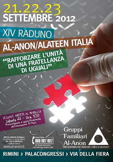 raduno al-anon alateen rimini 2012